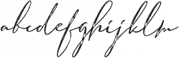 Armando Rough otf (400) Font LOWERCASE