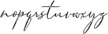 Armando Rough ttf (400) Font LOWERCASE