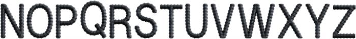 Armature Regular otf (400) Font UPPERCASE