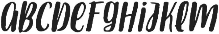 Armin Italic otf (400) Font UPPERCASE