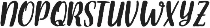 Armin Italic otf (400) Font LOWERCASE