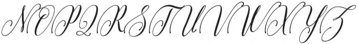 Arnetalia otf (400) Font UPPERCASE