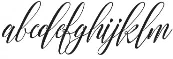 Arnetalia otf (400) Font LOWERCASE