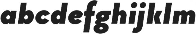 Arnold otf (700) Font LOWERCASE
