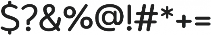 Aromatica Bold otf (700) Font OTHER CHARS