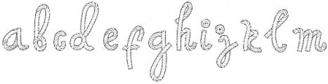 AropeFont1 Regular otf (400) Font LOWERCASE