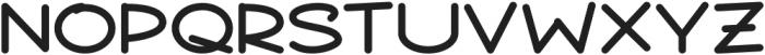 Arqui Regular otf (400) Font LOWERCASE