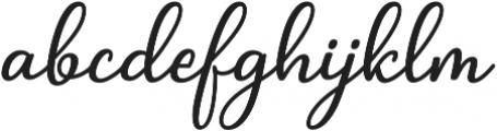 Arrowlicious otf (400) Font LOWERCASE