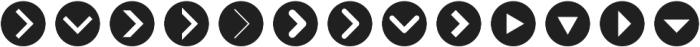 Arrrows Bold otf (700) Font LOWERCASE
