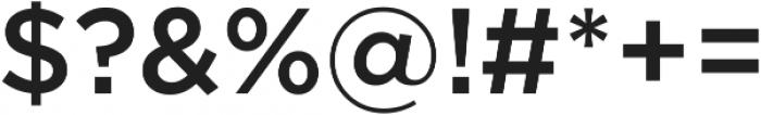 Arson Pro Medium otf (500) Font OTHER CHARS