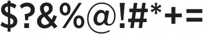 Arson Pro Narrow Medium otf (500) Font OTHER CHARS