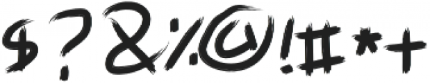 Art-Ist otf (400) Font OTHER CHARS