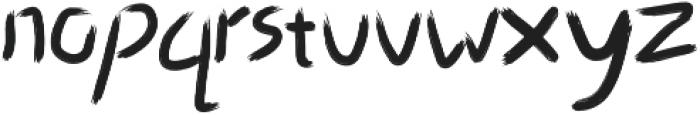 Art-Ist otf (400) Font LOWERCASE