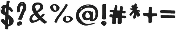 Art Plot otf (400) Font OTHER CHARS