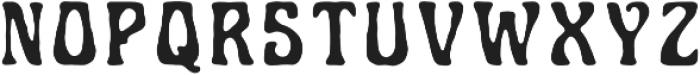 Art-nuvo Regular otf (400) Font LOWERCASE