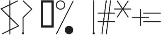 ArteNewest otf (400) Font OTHER CHARS