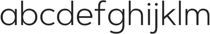 Artegra Sans Alt Light otf (300) Font LOWERCASE
