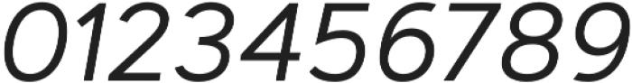 Artegra Sans Alt Regular Italic otf (400) Font OTHER CHARS
