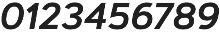 Artegra Sans Alt SemiBold Italic otf (600) Font OTHER CHARS