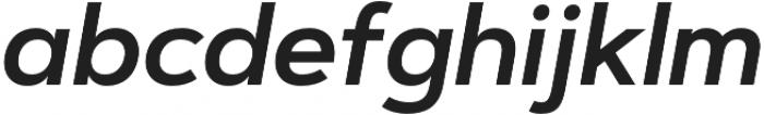 Artegra Sans Alt SemiBold Italic otf (600) Font LOWERCASE