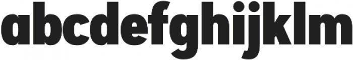 Artegra Sans Condensed Alt Black otf (900) Font LOWERCASE