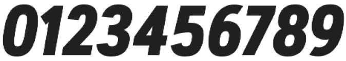 Artegra Sans Condensed Alt Bold Italic otf (700) Font OTHER CHARS