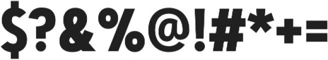 Artegra Sans Condensed Alt Bold otf (700) Font OTHER CHARS