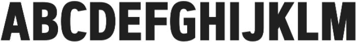 Artegra Sans Condensed Alt Bold otf (700) Font UPPERCASE