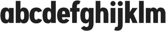 Artegra Sans Condensed Alt Bold otf (700) Font LOWERCASE