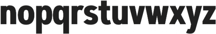 Artegra Sans Condensed Bold otf (700) Font LOWERCASE