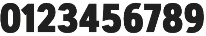 Artegra Sans Condensed ExtraBold otf (700) Font OTHER CHARS
