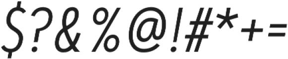 Artegra Sans Condensed Light Italic otf (300) Font OTHER CHARS