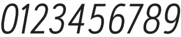Artegra Sans Condensed SC Light Italic otf (300) Font OTHER CHARS