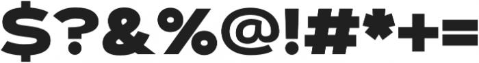 Artegra Sans Extended Alt Black otf (900) Font OTHER CHARS
