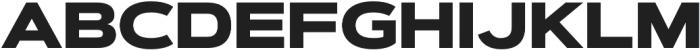 Artegra Sans Extended Alt Black otf (900) Font UPPERCASE