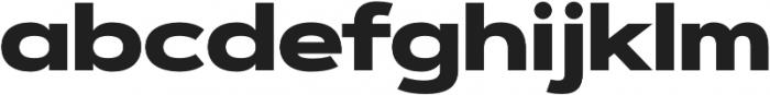 Artegra Sans Extended Alt Black otf (900) Font LOWERCASE