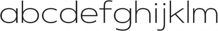 Artegra Sans Extended Alt ExtraLight otf (200) Font LOWERCASE