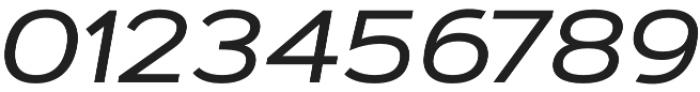 Artegra Sans Extended Alt Medium Italic otf (500) Font OTHER CHARS