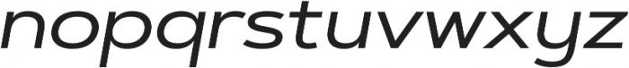 Artegra Sans Extended Alt Medium Italic otf (500) Font LOWERCASE