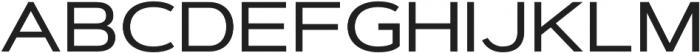 Artegra Sans Extended Alt Medium otf (500) Font UPPERCASE
