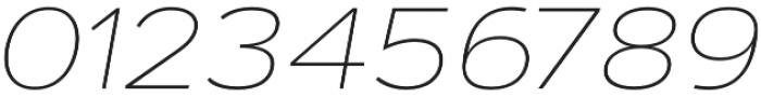 Artegra Sans Extended Alt Thin Italic otf (100) Font OTHER CHARS