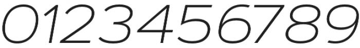 Artegra Sans Extended ExtraLight Italic otf (200) Font OTHER CHARS