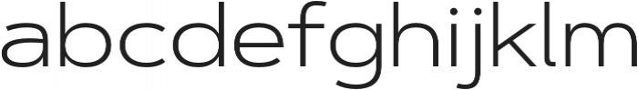 Artegra Sans Extended Light otf (300) Font LOWERCASE