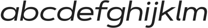 Artegra Sans Extended Medium Italic otf (500) Font LOWERCASE