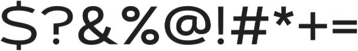 Artegra Sans Extended Medium otf (500) Font OTHER CHARS