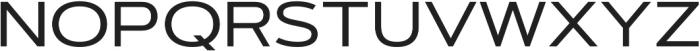 Artegra Sans Extended Medium otf (500) Font UPPERCASE