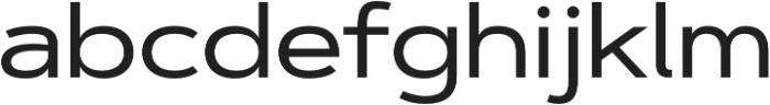 Artegra Sans Extended Medium otf (500) Font LOWERCASE