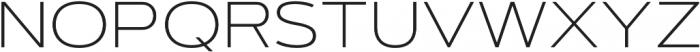 Artegra Sans Extended SC ExtraLight otf (200) Font UPPERCASE