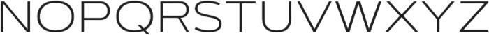 Artegra Sans Extended SC ExtraLight otf (200) Font LOWERCASE
