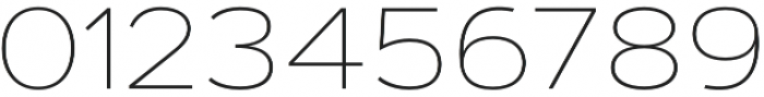 Artegra Sans Extended Thin otf (100) Font OTHER CHARS